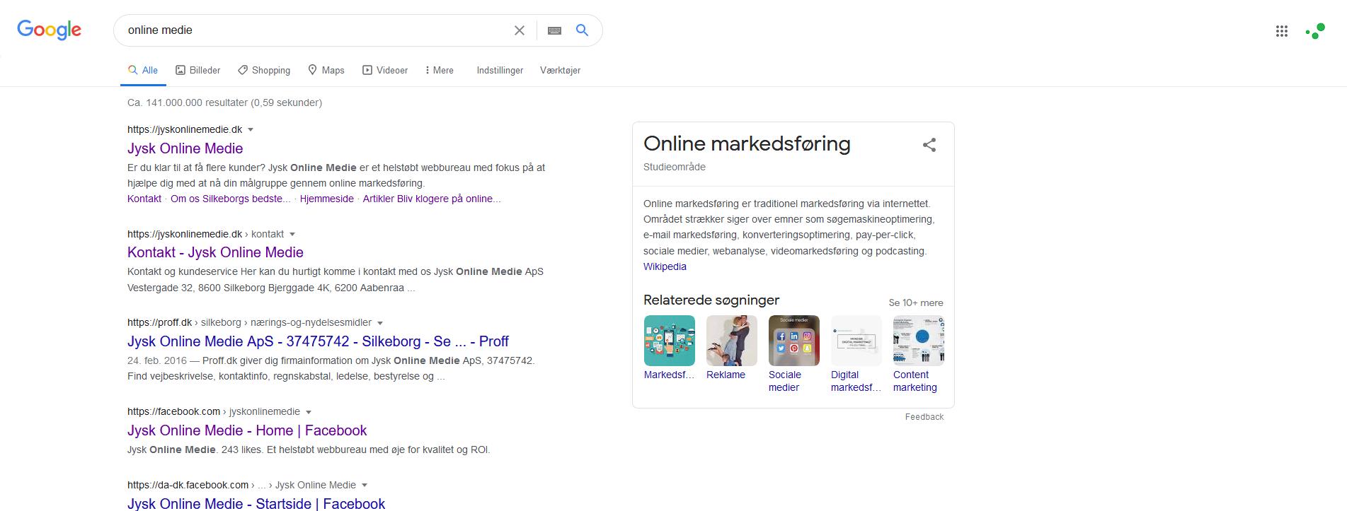 Google SEO webbureau Silkeborg