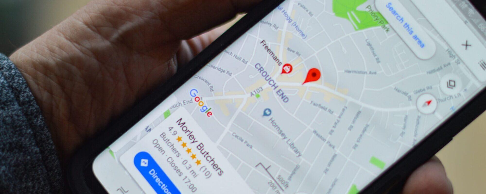 Google my Business online markedsføring