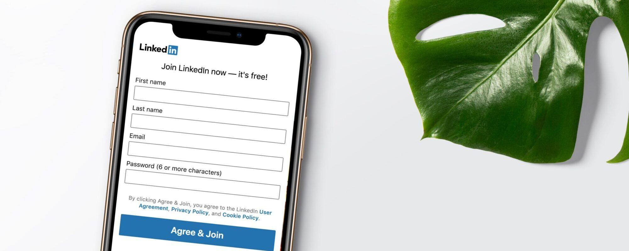 LinkedIn ads online marketing